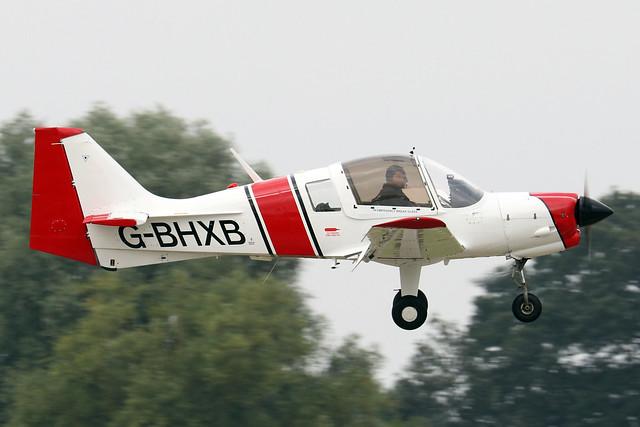 G-BHXB  -  Bulldog 1210 c/n BH.120-408  -  EGBK 4/9/21