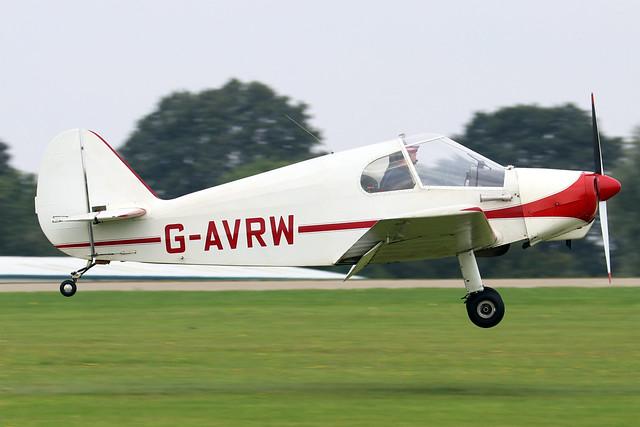 G-AVRW  -  Gardan Minicab JB-01 c/n PFA 1800  -  EGBK 4/9/21