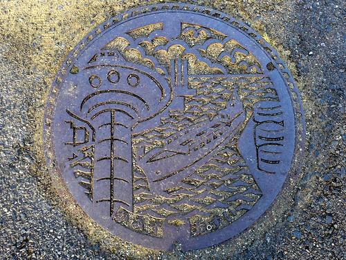 Kamisu Ibaraki, manhole cover (茨城県神栖市のマンホール)