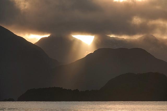 After the storm - Dusky Sound New Zealand