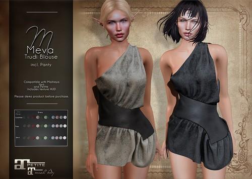 Meva Flavia Dress Old Style