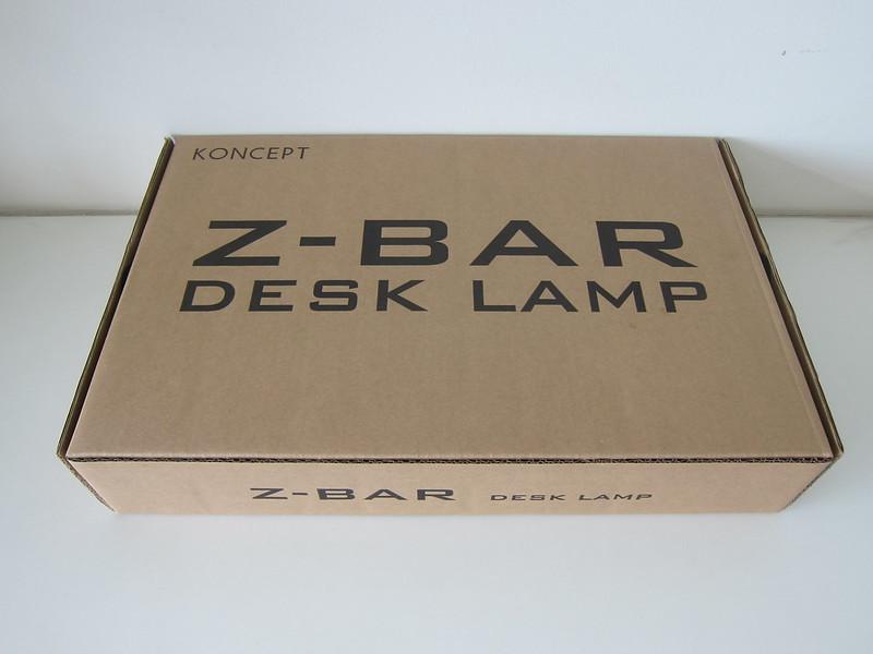 Koncept Z-Bar LED Desk Lamp - Box Back