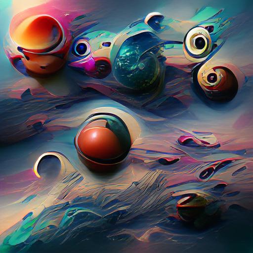 'Planets' Art Machine