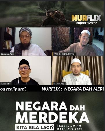 Perkongsian Aliff Aziz Perihal Sosial Media Di Nurflix Live