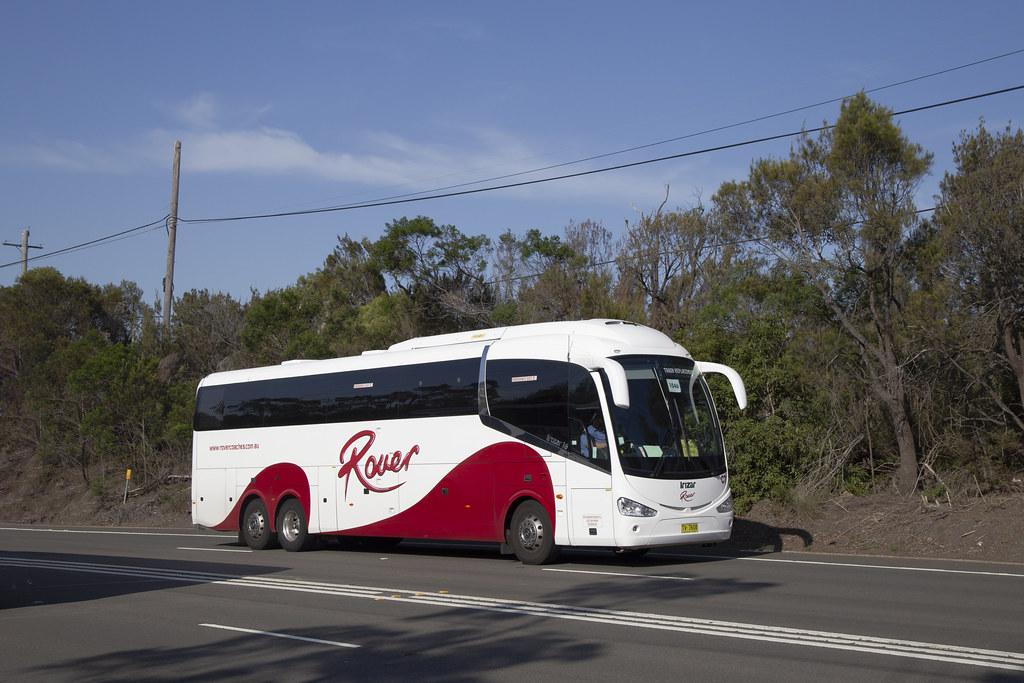 Rover Coaches (C7) Mercedes Benz O500RF/Irizar i6 at Berowra.