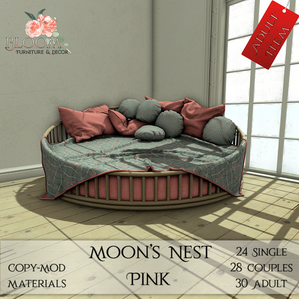 Bloom! – Moon's Nest Pink (A)AD