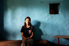 portrait of keza // bhutan a long time ago