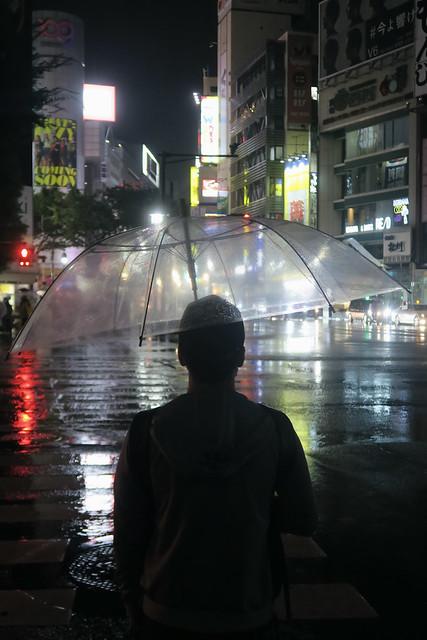 Rainy Night in Shibuya