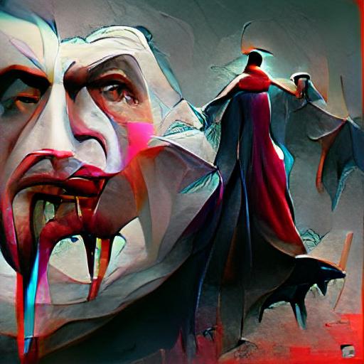 'Dracula' Art Machine