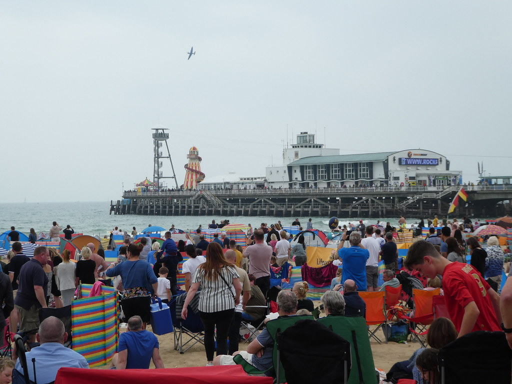 Bournemouth Air Show Crowds