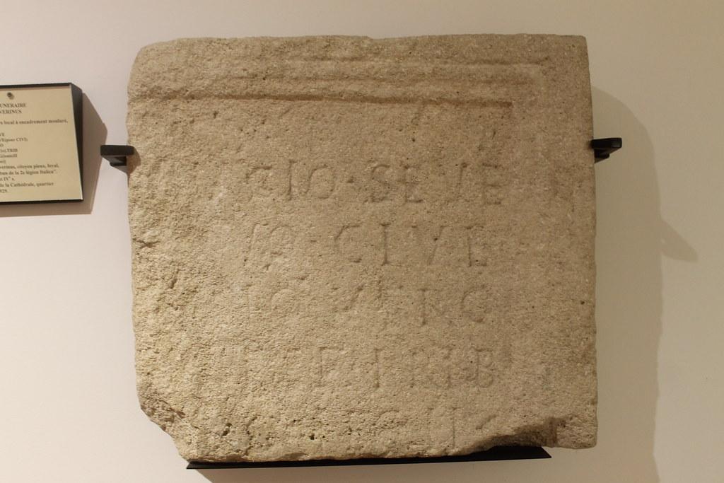 Funerary Monument of Magius Severinus