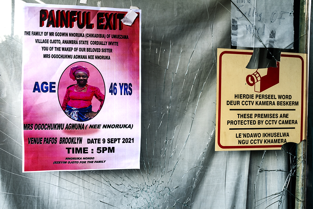 PAINFUL EXIT Nigerian death notice in Rugby on 9-5-21--Cape Town