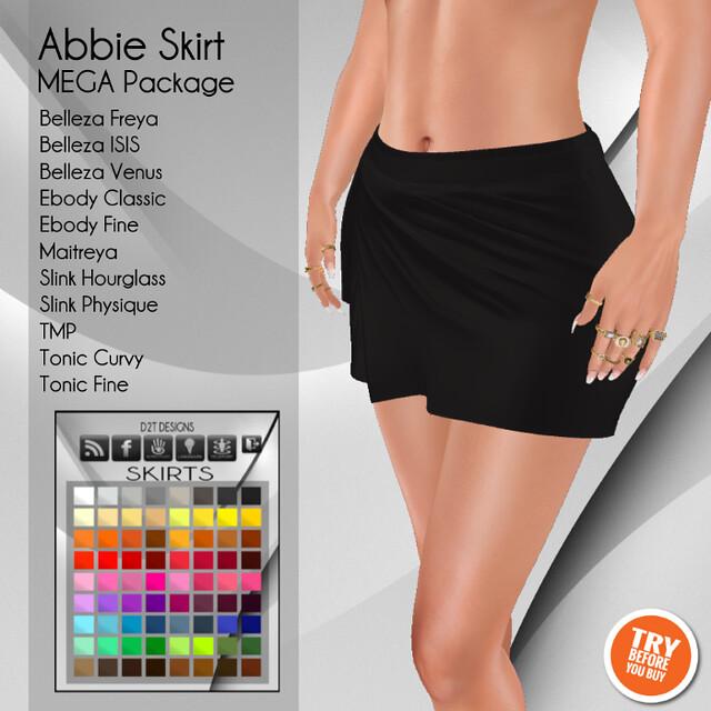 [D2T Designs] Abbie Skirt #MegaPack ADD