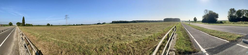 Panorama van het startgebied.