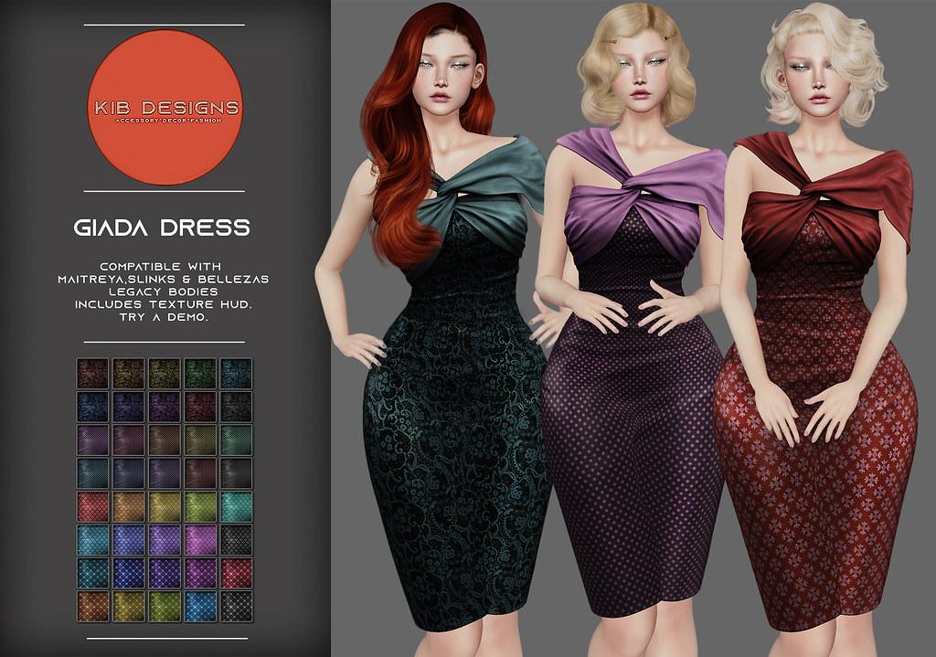 KiB Designs – Giada Dress @Orsy Event 6th Sept.