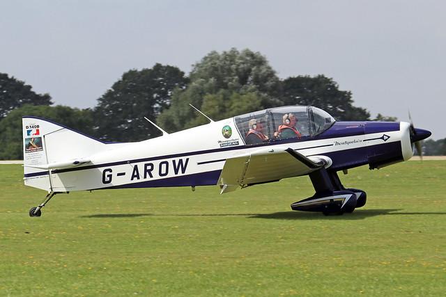 G-AROW  -  Jodel D.140B Mousquetaire II c/n 71  -  EGBK 3/9/21