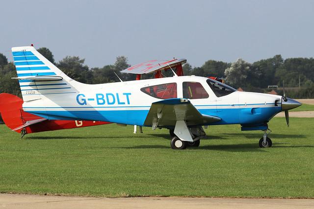 G-BDLT  -  Rockwell Commander 112A c/n 363  -  EGBK 5/9/21