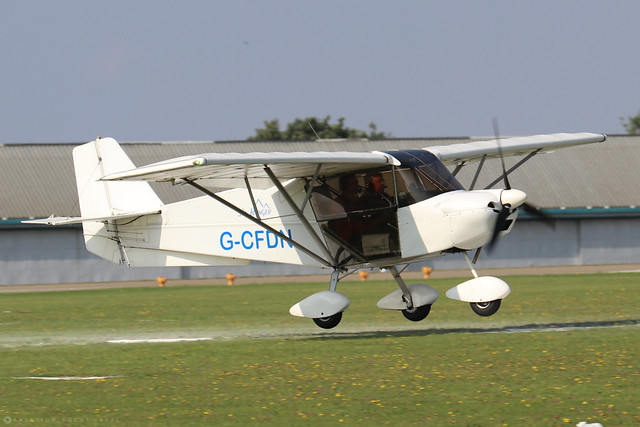 G-CFDN  -  SkyRanger Swift 912S(1) c/n BMAA/HB/564  -  EGBK 5/9/21