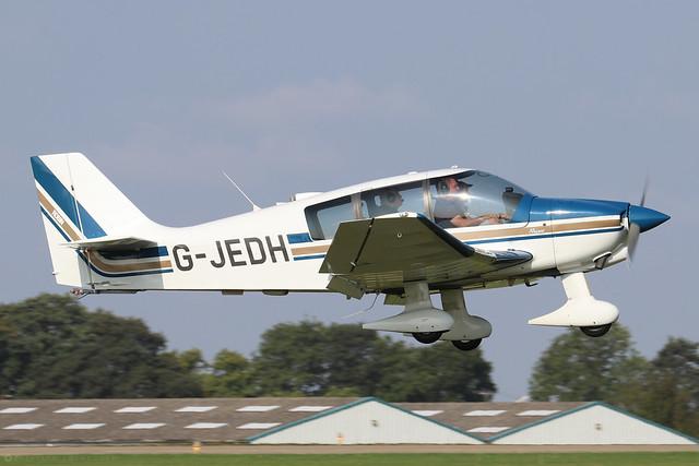 G-JEDH  -  Robin DR.400 180 Regent c/n 2343  -  EGBK 5/9/21
