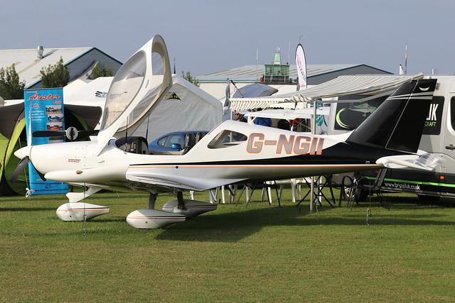G-NGII  -  BRM Bristell NG5 Speed Wing LAA 385-15431  -  EGBK 5/9/21