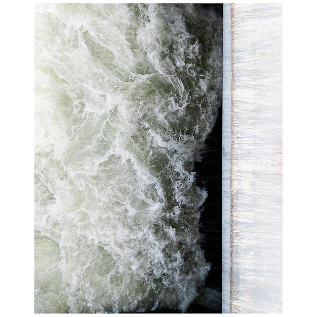Beim Kraftwerk, Bannwil. A hydroelectric power plant.