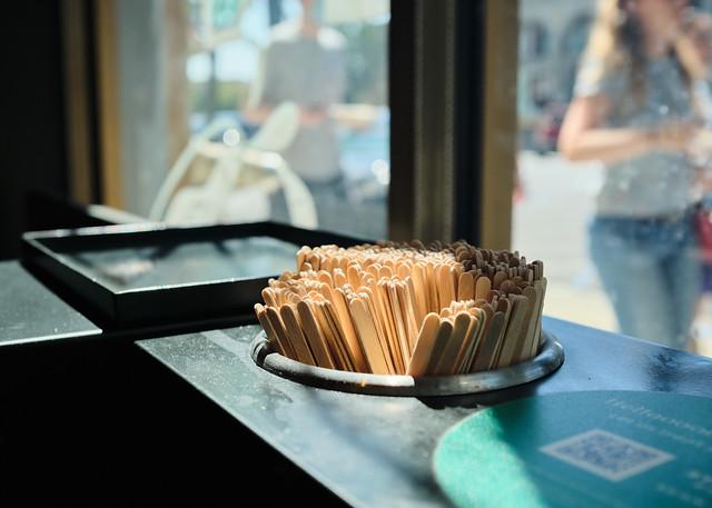 Stir sticks are public again at Starbucks