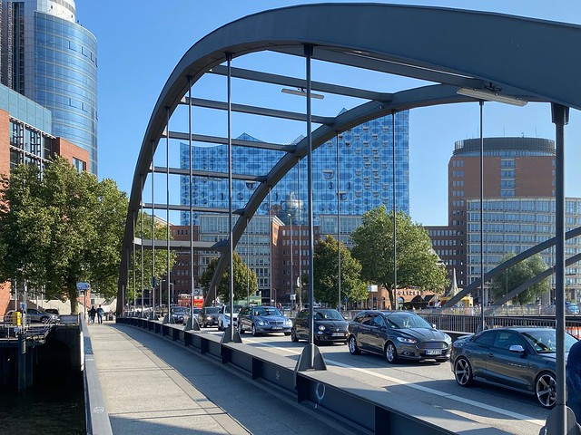 Verkehrsstau in Hamburg