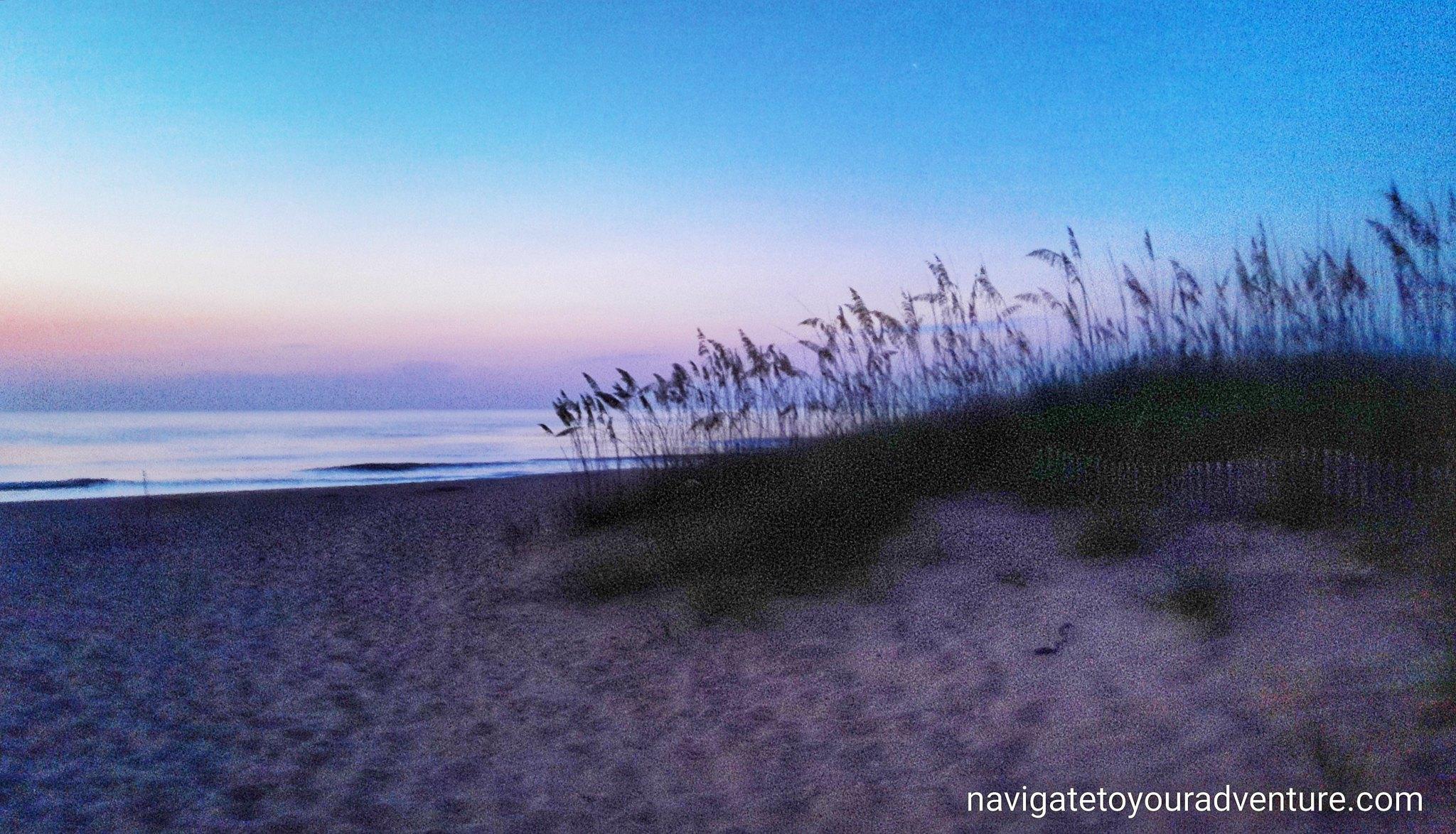 POSTCARD:Sunrise || The Alantic Coast