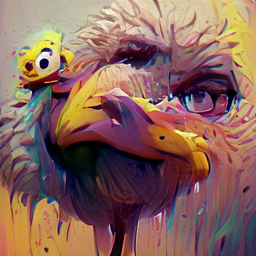 'Big Bird' VQGAN+CLIP v5