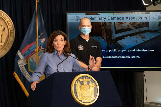Following Visits to Communities Impacted by Ida Flooding, Governor Hochul Signs Request for Expedited Major Disaster Declaration