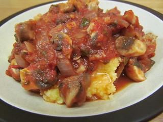 Poletna with Spicy Tomato Ragu