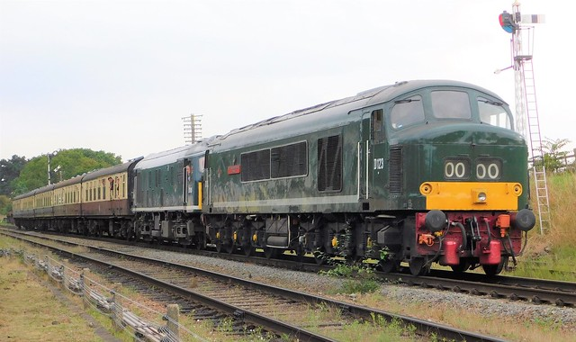 D123 + D5185 - Quorn & Woodhouse, Leicestershire