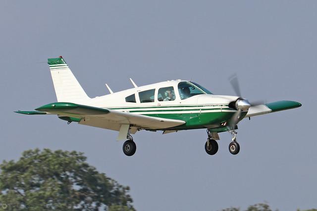 G-AWAZ  -  PA-28R 180 Cherokee Arrow c/n 28R-30512  -  EGBK 5/9/21