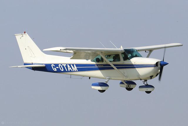 G-OTAM  -  Cessna 172M Skyhawk c/n 172-64098  -  EGBK 5/9/21