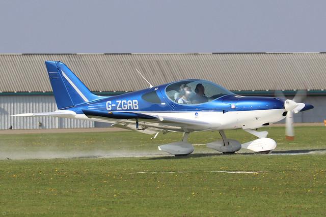 G-ZGAB  -  BRM Aero Bristell NG5 SpeedWing c/n LAA 385-15392  -  EGBK 5/9/21