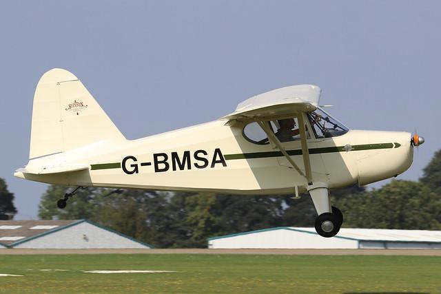 G-BMSA Stinson Voyager 105 / HW-75 7040