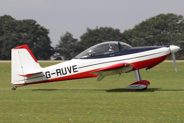 G-RUVE  -  Vans RV-8 c/n 82747  -  EGBK 3/9/21