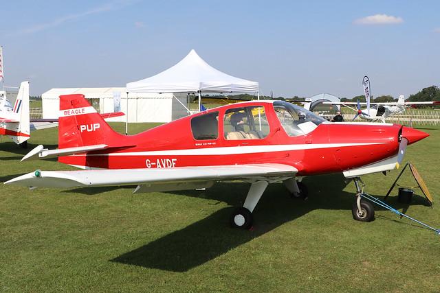 G-AVDF  -  Beagle B121 Pup-100 c/n B121/001  -  EGBK 5/9/21