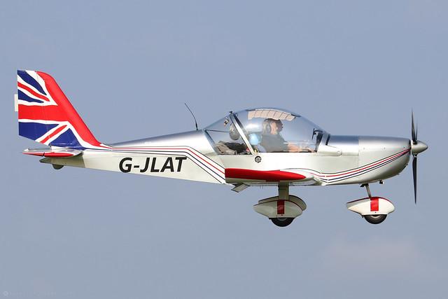 G-JLAT -  EV-97 Eurostar c/n PFA 315-14068  -  EGBK 5/9/21