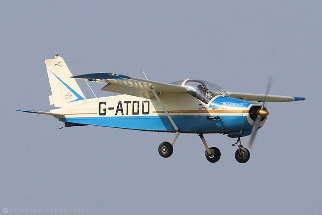 G-ATDO  -  Bolkow Junior Bo.208C c/n 576  -  EGBK 5/9/21