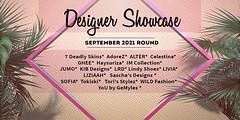Designer Showcase -September Round- 2021