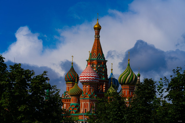 St Basil's Church - in Moscow