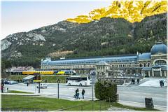 Regional y Tren Azul en Canfranc