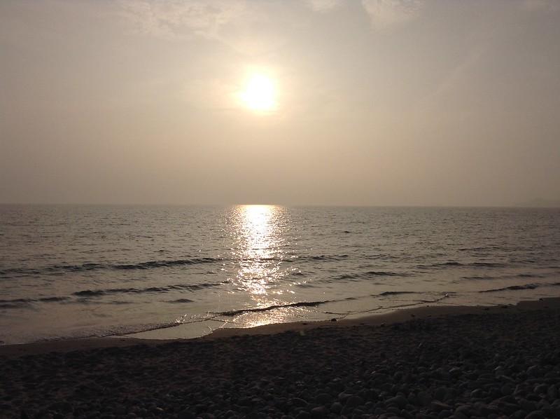 September Sunset, Newgale Beach
