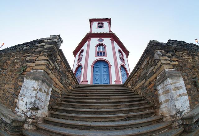 Escadaria da Igreja São José.
