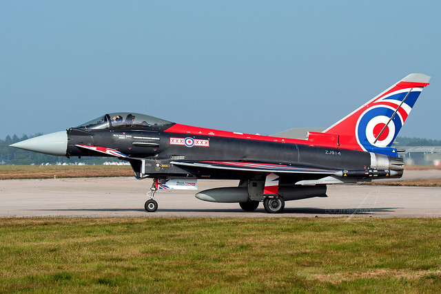 ZJ914 | Eurofighter Typhoon FGR4 | Royal Air Force