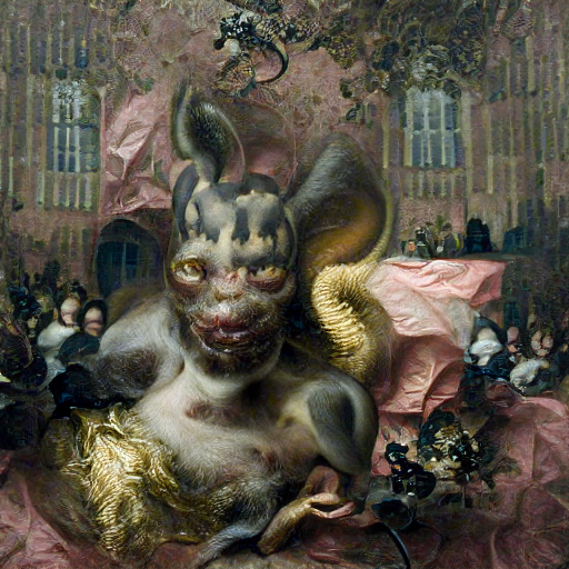 'a flemish baroque of a demon' Zoetrope 5.5 Text-to-Image