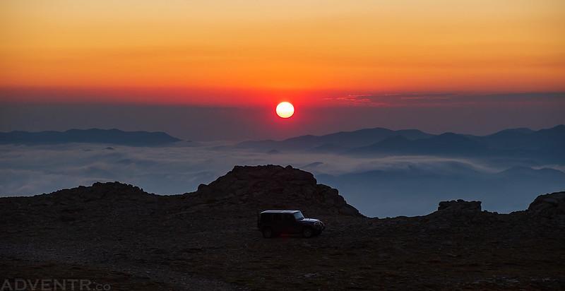 Hermit Pass Sunrise
