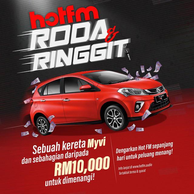 Hot Fm Roda &Amp; Ringgit, Usahawan Buletin Fm &Amp; Program Amal Covaid #Baiksemula