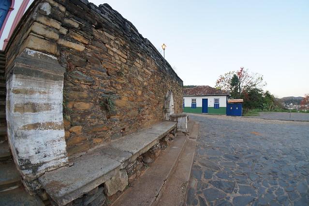 Escadaria e fonte - Praça Matriz